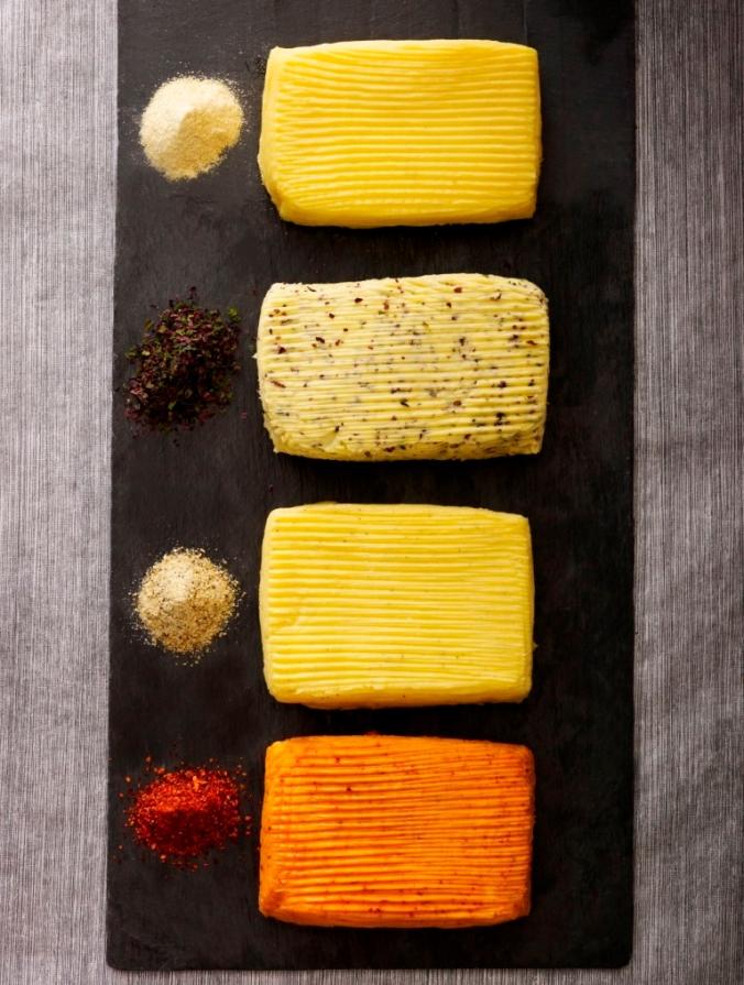 ardoise 4 beurres et épices